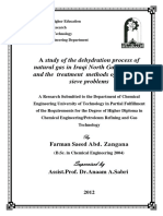 study of dehydration process of natural gas.pdf