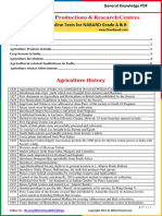 Agriculture Study Notes PDF by AffairsCloud