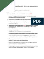 Utilidades de La Microscopia Óptica de Fluorecencia en La Medicina