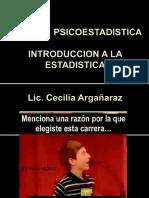 Introduccion a La Estadística