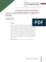 Uso de Estrategias Metacognitivas de Lectura en Primer y Tercer de Ems