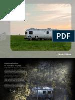 Airstream 2018 Travel Trailers Brochure