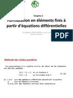 Chap2-Formulation MEF Par ED