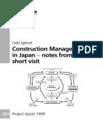 V INFO PUB Utgivelser Prosjektrapport Byggforsk Prosjektrapporter 237-336 PR261 Nett Prosjektrapport261