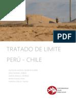 Tradado de Limite Perú-chile
