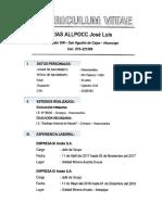 Curriculum Jose Luis Documentado