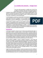 7) Alfonsinismo y Medios de Comunicación