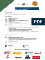 2. Preprogama XI Encuentro VT