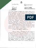 Ratifican el rechazo al pedido de arresto domiciliario realizado por el ex juez federal Raúl Reynoso