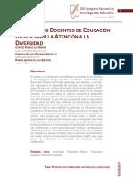 Retos de Los Docentes de Educacion Basica Para La Atencion a La Diversidad