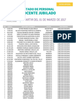 Publicacion Jub Docente Marzo