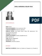 Curriculum Lic. Zheila Adrianela Bejar Vega (1)