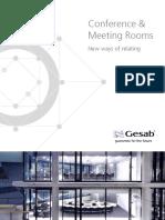 Gesab Meetign Rooms Eng