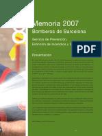 Memoria BOMBERS 07 Es