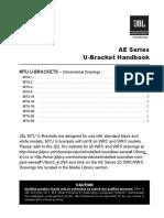 JBL UBracket Handbook 092016