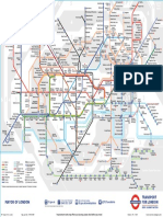 Tube Map August 2017