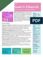 st saviours newsletter - 17 dec 2017