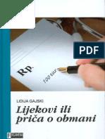 Dr.Lidija Gajski - Lijekovi ili priča o obmani