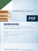 INFERENCIA LÒGICA Trabajo de Medalit