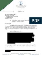 El Chapo attorney Reply Regarding Witness Threats