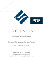 JETFINITY In-flight Catering Menu