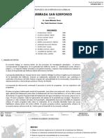 Propuesta Final Quebrada San Idelfonso