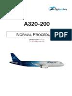 A320X Normal Procedures P3Dv4
