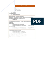Modelo de Estructura TAF