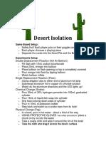 desert isolation