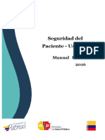 Manual de Seguridad Del Paciente Usuario SNS