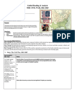 Civil War Guided Reading 1