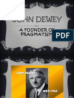 Presentation on John Dewey