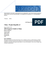 2015 Exporter Guide to China_Chengdu ATO_China - Peoples Republic Of_12!31!2015