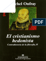 Onfray Michel El Cristianismo Hedonista Contrahistoria de La Filosofc3ada II Por Ganz1912