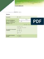 Algebra Inecuaciones Con Valor Absoluto