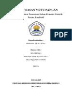 LAPORAN PMP KEL 8 KUALITATIF PEMANIS.docx