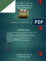 Aminoacidos y Biopolimeros