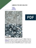 Textura Por El Tamaño Absoluto de Rocas Ígneas