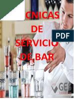 Tecnicas de Servicio de Bar