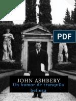 John Ashbery - Un Humor de Tranquila Belleza (Antología)