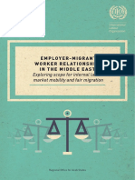 Employer-Migrant Relationships in the Middle East