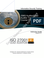 Sec1310cl Iso27001 Lead Auditor Ig.v4.3.1 Itp Demo