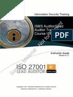 Sec1310cl Iso27001 Lead Auditor Ig.v4.3.1 Itp Demo