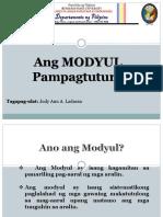 MODYUL Pampagtuturo