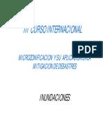 Microzonificacion y Mitigacion Desastres