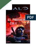 Halo 6. El Protocolo Cole - Tobias S. Buckell