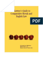 A Lawyers Guide to Comparative Slovak and English Law