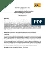 Informe 7 - Medición de Deformación