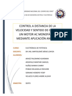 CONTROL REMOTO DE VELOCIDAD Y SENTIDO DE GIRO DE UN MOTOR