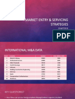 Market Entry & Servicing Strategies